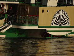 Dresden-0109_1 (pischty.hufnagel) Tags: dresden elbe dampfschiff dampfschifffahrt kurort rathen wende schaufelraddampfschiff schaufelraddampfer