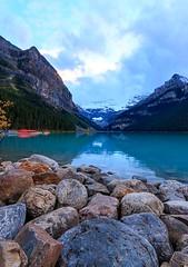Lake Louise (knnku) Tags: lake louise 2016 alberta jasper kennikuyou knnku ken canada lakeside water mountains cold outdoor explore adventure