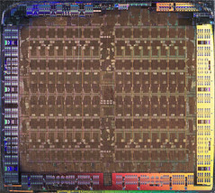 AMD@28nm@GCN_1st_gen@Tahiti@Radeon_HD_7950_GHz_Edition@1312_NCC858.00_512-0821065___Stack-DSC03197-DSC03218_-_ZS-retouched (FritzchensFritz) Tags: macro makro supermacro supermakro focusstacking fokusstacking focus stacking fokus stackshot stackrail amd radeon hd 7970 tahiti gcn 1st gen 10 28nm gpu core heatspreader die shot gpupackage package processor prozessor gpudie dieshots dieshot waferdie wafer wafershot vintage open cracked