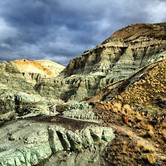 John Day Fossil Beds (erika eve) Tags: oregon johndayfossilbeds uploaded:by=flickrmobile flickriosapp:filter=nofilter