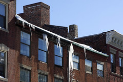 Winter Storm Nemo (nd-nʎ) Tags: winter snow ice boston massachusetts snowstorm icicle blizzard icicles beaconhill winterstorm noreaster winterstormnemo blizzardof2013