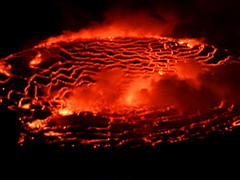 Boiling Up! (bimbler2009) Tags: red hot nature lava sony cybershot magical powerful moulten