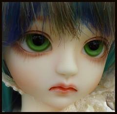 Make up detail (Bunraku Doll) Tags: moon cute girl doll ooak makeup bjd 人形 resin elegant custom dollfie ai ch muñeca customhouse 인형 娃娃 かわいい 可愛い 女の子 misong faceup multicoloredhair angeai bunrakudoll cheonga