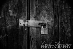 Locked (Emily Anderson Photography) Tags: lock padlock latch woodendoor