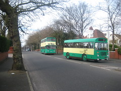Buses on route during Easter Sunday Running Day (toni's pics - (2)) Tags: bristol lh leyland 2160 mua bkc 1032 a112 hlv atlantean 1236 45p mua45p bkc236k a112hlv 236k
