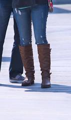 "2013-03-30 (95) Ocean City MD - boots (JimFleenor) Tags: oceancitymd photos photography easter beach girls woman femme frau vrouw donna lamujer dona امرأة жена 女子 žena kvinde nainen γυναίκα האישה nő औरत wanita 女性 여자 kvinne زن kobieta mulher женщина kvinna หญิง kadın жінка ngườiphụnữ boots shoes footwear ""foot boardwalk kneehigh tightjeans foot maryland"