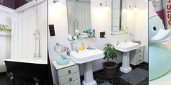 My House - Bathroom (murgathotmaildotcom) Tags: wood old 1920s house art heritage kitchen bathroom inspired pop retro perth restored restoration renovation guildford renovated jarrah