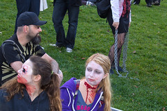 """Montreal Zombie Walk 2012-10-20 (Martin Ujlaki-All photos """"copyright Martin Ujlaki"""") Tags: montreal zombiewalk martinujlaki marchedeszombies"""