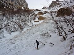 Scialpinismo Sibillini - nord della Priora