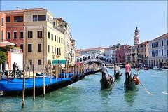 Venice : The Rialto bridge (Pantchoa) Tags: bridge venice italy nikon italia gondola nikkor venise venezia venetie grandcanal rialto sanmarco gondole veneto canalgrande d90 gondoles sanpolo canalazzo 1685f3556gedvr canalazo rememberthatmomentlevel1 rememberthatmomentlevel2