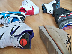 Recent rotation (Firepower23) Tags: sneakers nike rotation kicks clarks reebokpump airjordans