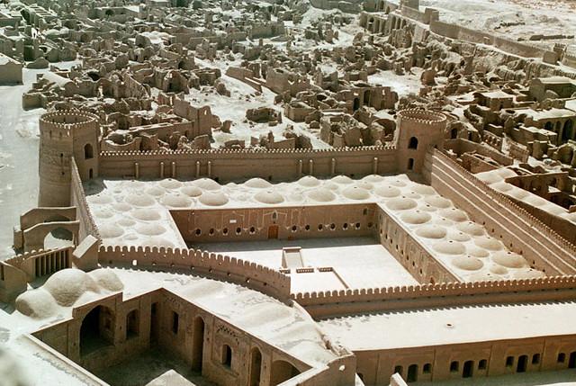 Иран, Персия, Керман, Арг-е Бам, Крепость Бам