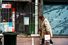 Just carrying on... (Spyros Papaspyropoulos) Tags: street woman color colour lady photography streetphotography athens greece streetphotographer attiki dayshot