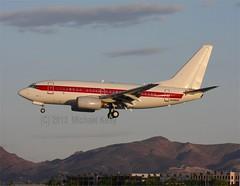 Department of the Air Force   (USAF)            Boeing 737       N288DP (Flame1958) Tags: las lasvegas nevada egg nv boeing usaf klas 737 usairforce area51 b737 mccarron unitedstatesairforce boeing737 lasvegasairport 0413 2013 737600 mccarronairport boeing737600 090413 b7376 egandg