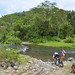 Poco prima di El Castillo devo attraversare due tratti profondi 1 metro del fiume Caño Negro