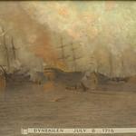 """<b>Dynekilen, July 8, 1716</b><br/> Biorn, #197, Oil, Painting<a href=""""http://farm9.static.flickr.com/8397/8652930318_5aee732857_o.jpg"""" title=""""High res"""">∝</a>"""
