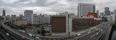 Tokyo 2463 (tokyoform) Tags: street city sky urban cars japan skyline architecture clouds buildings 350d japanese tokyo cal
