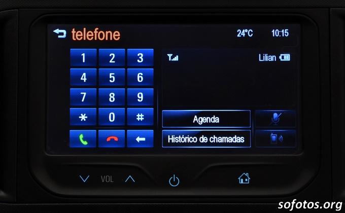 Central multimídia Chevrolet Onix