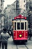 Nostalgic (puthoOr photOgraphy) Tags: turkey tram istanbul dk lightroom istiklalcaddesi taksimsquare d90 adobelightroom nikond90 istiklalavenue lightroom3 nostalgictram puthoor abrahamputhoor gettyimagehq puthoorphotography