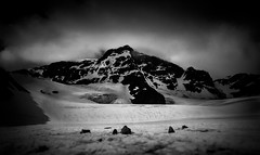 Work. (c_c_clason) Tags: leica mountains glacier kebnekaise leicadigilux tarfala storglaciären tarfalaresearchstation storglaciaren