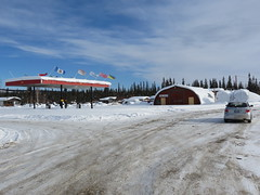 The Jimbobmobile at the Klondike River Lodge (jimbob_malone) Tags: yukon 2013 northklondikehighway