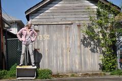 Patrol (eddi_monsoon) Tags: portrait selfportrait self alley garage lane 365 selfie threesixtyfive