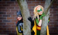 Sirene and CourtoonXIII as Batgirl and Robin Anime St. Louis 2013 DC Batman Cosplay (WhiteDesertSun) Tags: anime robin st louis dc illinois unitedstates cosplay convention batman batgirl con collinsville sirene 2013 courtoonxiii catalystsirene