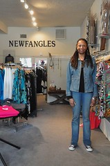 Owner, Alyce Preston (Ken L. Katz) Tags: ca oakland business shops grandlake gaba grandavenue clothingshop newfangles alycepreston
