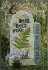 Consolation (Global Toss-up) Tags: vermont quilting artquilt gypsybaby mixedmediaart phototransfer vermontcemetery