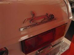 Paykan Hillman Hunter - rear badge detail (andreboeni) Tags: auto classic cars car emblem iran voiture retro badge oldtimer hunter iranian autos script hillman voitures rootesgroup rootes classique peykan