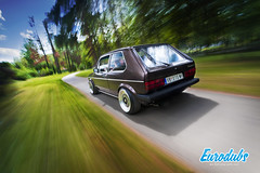 Rig Shot - Golf mk1 (Eurodubs) Tags: vw golf volkswagen rolling vag srbija mk1 golfmk1 rigshot automotiverig fagix