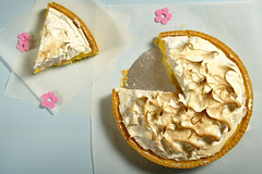 Delizia al Limone meringata - DSC_5714 (SaleCaramello) Tags: lemon sweet handmade dolce limone meringue torta meringa frolla