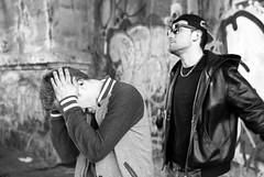 WHO HAVE A DREAM.. TO TRY IT   (http://www.youtube.com/watch?v=Eg2vKSZQczA&feature=share) (skech82) Tags: street boy portrait people italy music man milan face 35mm movie person photography video strada italia foto milano pop persone uomo sing musica singer di hip rap director videoclip ritratto viso cantante ragazzo comparsa regista corvetto d3000 skech82