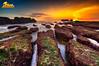 mengening beach - bali (tut bol) Tags: sea bali nikon tide low tropical 28 nikkor breeze hdr mengeningbeach sunsetatbali 1424mmf cemagibeach