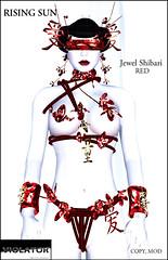 VIOLATOR @ The Couturier's Dock - Rising Sun Jewel Shibari (Soraya Vaher, VIOLATOR) Tags: asian bondage rope jewellery couture haute violator shibari salimar sorayavaher couturierdocks salimarluxuridistrict