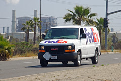 FedEx (So Cal Metro) Tags: cargo longbeach delivery van fedex courier gmc freight federalexpress savana