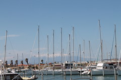 Le port et le Canigou (SMartine) Tags: 66 po languedocroussillon pyrnesorientales catalunyanord portbarcars lebarcars martinesodaigui