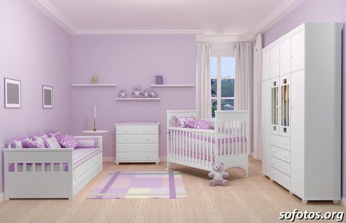 quartos de bebe completo lilas