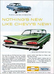 Chevy Impala, Chevy Bel Air 1959 (1950sUnlimited) Tags: travel cars belair advertising design style vehicles chevy 1950s transportation impala advertisements classiccars automobiles midcentury