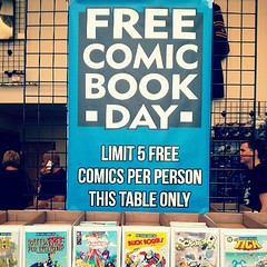 Free Comic Book Day #FCBD #comics #FreeComicBookDay (MisledYouth74) Tags: square squareformat normal iphoneography instagramapp uploaded:by=instagram
