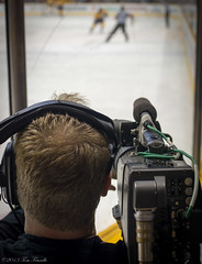 Camera Man Perspective (Tom Frundle Photography) Tags: sports hockey nhl tn nashville pentax professional k5 nashvillepredators downtownnashville 2013 nhlhockey bridgestonearena tomfrundlephotography