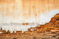 Old brick wall (Patrick Foto :)) Tags: old city red wallpaper urban orange brown building yellow vertical horizontal architecture vintage tile concrete paint pieces stones many background patterns stonework grunge bricks cement masonry surface dirty textures clay brickwall backdrop historical weathered stonewall blocks aged walls rockwall rubble brickwork solid rectangles ordinary regular tiled stonemason blotch revetment tilable