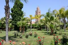 Marrakech (Maroc) - Les Jardins de  la Koutoubia (Morio60) Tags: jardin maroc marrakech koutoubia