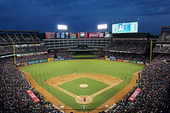 Rangers Ballpark in Arlington (russ david) Tags: seattle park arlington texas baseball stadium mariners april rangers ballpark feild 2013