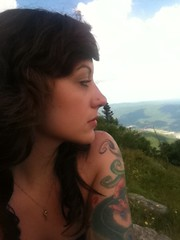 On the mountain (This is Awkward) Tags: mountain berkshires reana
