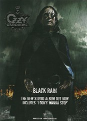 "Ozzy Osbourne ""Black Rain"" (Released 05/22/07) (NYCDreamin) Tags: ozzyosbourne blackrain 052207 albumads"