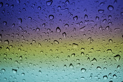 Raindrops (MaryCJM) Tags: colors car rain weather drops nikon florida windshield d3100