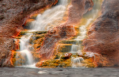 The Wonders of Yellowstone (Fereshte Faustini) Tags: fall water yellowstone yosemitenationalpark geology hotspring naturephotography landscapephotography geologicalformation fereshtefaustini