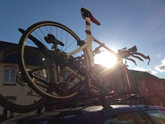 32 (samwebster) Tags: sun car glare bikes bicycles cycle flare project365 uploaded:by=flickrmobile flickriosapp:filter=nofilter