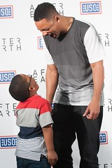 'After Earth' Special USO Screening at Fort Hood (The USO) Tags: willsmith jadensmith afterearth usoforthood